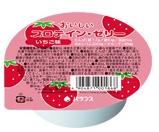 【本日ポイント5倍相当】【送料無料】バランス株式会社『おいしいプロテインゼリー いちご味 74g×24個』×2個セット
