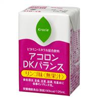 【本日ポイント5倍相当】クラシエ薬品株式会社 アコロンDKバランス リンゴ味(無果汁) 125ml×30本入×2箱セット<栄養補助飲料>【栄養機能食品(亜鉛)】