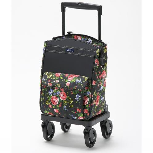 フランスベッド株式会社 リハテック ラクティブ SC02[花柄] 1台<ショッピングカート>(商品発送まで6-10日間程度かかります)(この商品は注文後のキャンセルができません)