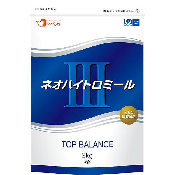株式会社フードケアネオハイトロミールIII 2kg × 4【JAPITALFOODS】(ご注文後のキャンセルは出来ません)