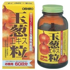【ポイント13倍相当】オリヒロ株式会社玉葱エキス粒 (約600粒)×4個セット