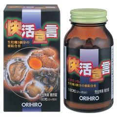 【ポイント13倍相当】オリヒロ株式会社快活宣言 180粒4個