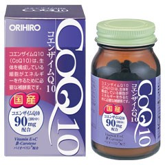 【ポイント13倍相当】オリヒロ株式会社コエンザイムQ10 90粒×【5個セット】