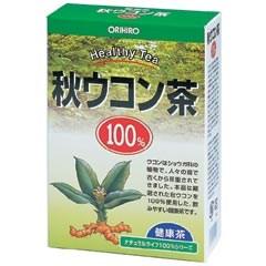 【ポイント13倍相当】オリヒロ株式会社NLティー100%秋ウコン茶 2g×25包×40箱セット