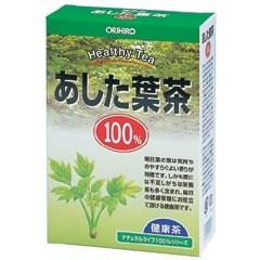【ポイント13倍相当】オリヒロ株式会社NLティー100%あした葉茶 1g×25包×40箱セット