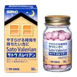 【ポイント13倍相当】佐藤製薬サトウバレリアン 90粒×5個セット