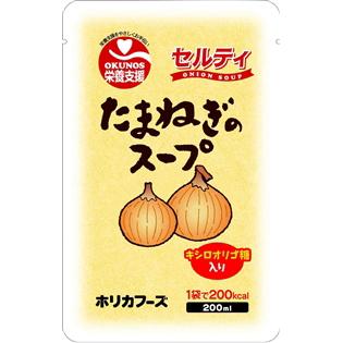 【ポイント13倍相当】ホリカフーズ株式会社 オクノス(OKUNOS)栄養支援セルティたまねぎのスープ 200ml×30袋×2袋(60袋)(発送までに7~10日かかります・ご注文後のキャンセルは出来ません)