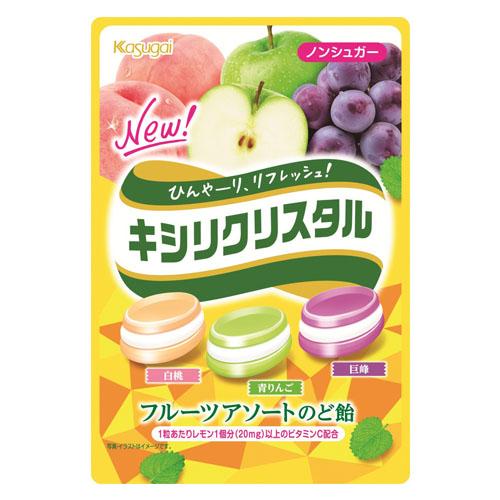 春日井製菓株式会社キシリクリスタル フルーツアソートのど飴(67g)×72個セット