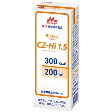 株式会社クリニコ 森永 高栄養流動食 クリミール(Climeal)CZ-Hi1.5(シーゼットハイ) 300kcal/200ml×30個入[品番:642565]【栄養機能食品(亜鉛・銅)】<流動食シリーズ>