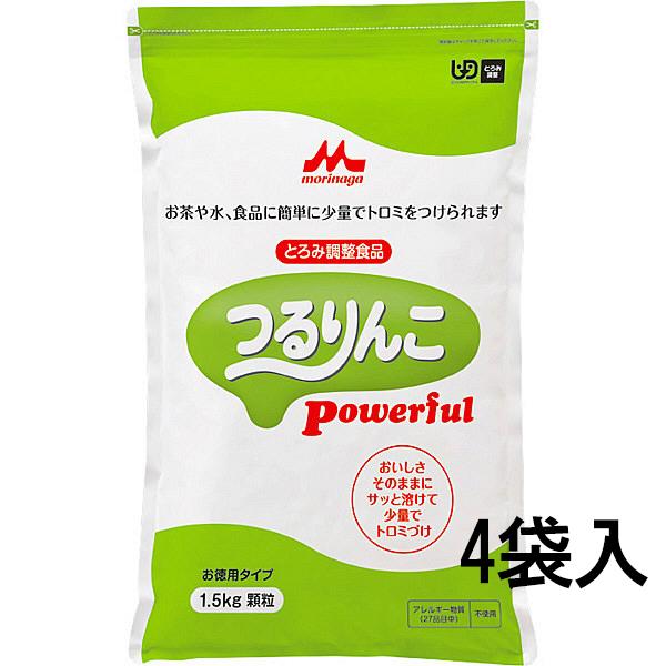 株式会社クリニコ つるりんこPowerful [業務用]お徳用 1.5kg×4袋入(4902720091527-4)<とろみ調整食品>