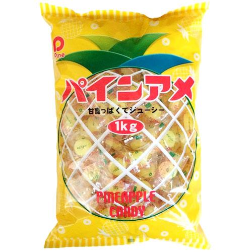 パイン株式会社パインアメ(1kg)×10個セット【北海道・沖縄は別途送料必要】