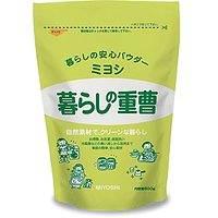 【ポイント13倍相当】ミヨシ石鹸株式会社暮らしの重曹600g×32個セット※商品が届くまで2~3日かかります。