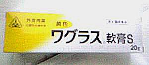 【第2類医薬品】【2月28日までポイント5倍】ホノミ漢方・剤盛堂薬品株式会社黄色ワグラス軟膏S 250g~化膿性皮膚疾患に~