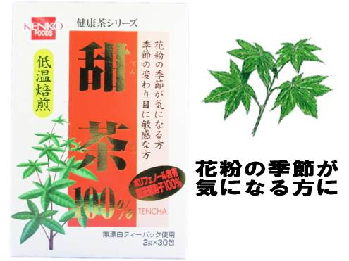 【本日ポイント5倍相当】株式会社杉食 健康フーズ 甜茶2g×30包×9箱セット