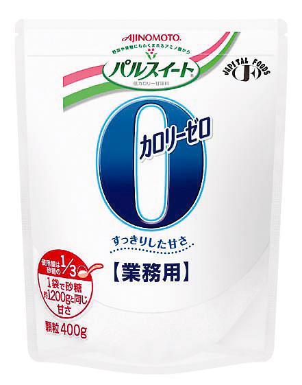 【本日ポイント5倍相当】【☆】味の素パルスイートカロリーゼロ顆粒 お得な400g×8個【JAPITALFOODS】