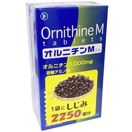 【ポイント13倍相当】【☆】協和発酵オルニチンM  6粒×25包×4コセット(100包)