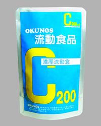 【ポイント13倍相当】ホリカフーズ株式会社 オクノス(OKUNOS)流動食品C 200ml×30袋×2(合計60袋)(発送までに7~10日かかります・ご注文後のキャンセルは出来ません)