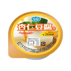 【ポイント13倍相当】ヘルシーフード株式会社低カロリーデザート 杏仁風味ゼリー 65g 60個(発送までに7~10日かかります・ご注文後のキャンセルは出来ません)