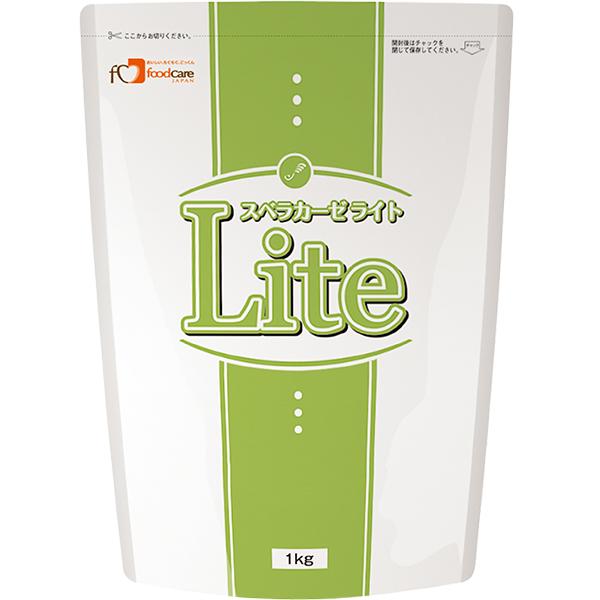 【ポイント13倍相当】株式会社フードケアスベラカーゼライト1kg × 8【JAPITALFOODS】(ご注文後のキャンセルは出来ません)