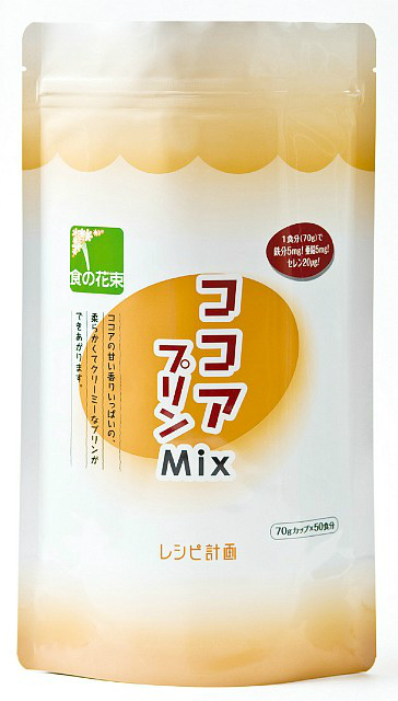 【ポイント13倍相当】株式会社レシピ計画ココアプリンMix 500g × 20【JAPITALFOODS】