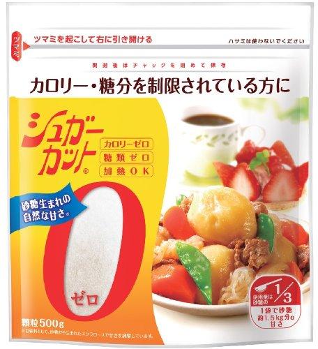 【ポイント13倍相当】【おまけ付き】カロリーゼロのダイエット甘味料。ダイエット、カロリーコントロールに。浅田飴シュガーカットゼロ顆粒 徳用500g×6個(旧商品名 エリスリム)