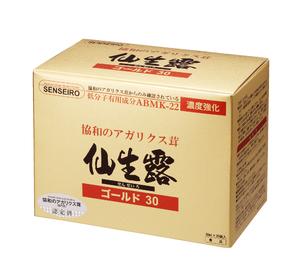 【ポイント13倍相当】SSI仙生露エキスゴールド30 30ml×30袋
