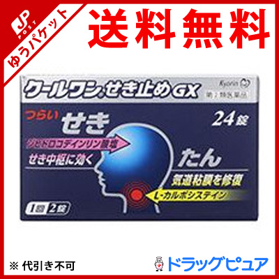 Kyorin pharmaceutical co., Ltd. cool dammed GX 24 tablets