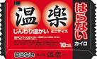 【本日ポイント5倍相当】オカモト株式会社はらないカイロ 温楽 ミニ ( 10コ入 )×48個セット