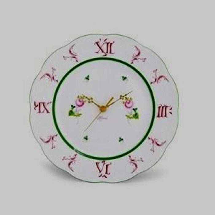 ヘレンド ウイーンの薔薇 ウォールクロック 壁掛け時計