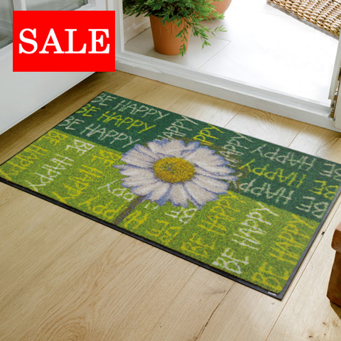 The washable doorstep 50*75cm room indoor outdoors combined use that 50% OFF outlet wash+dry (wash and dry) Be Happy is thin (except Hokkaido Okinawa and the remote island), and is durable