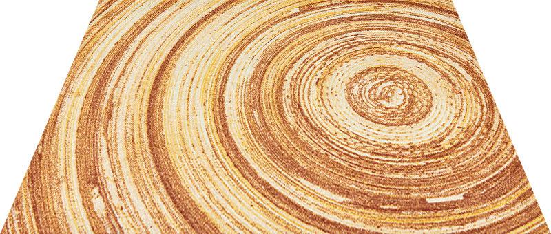 Office & Decor AnnualRing _アニュアルリンク゛145 x 200 cm玄関マット Office&Decor オフィスマット 屋内 室内 自然 ナチュラル エレガント 70種類 日本製 洗える 木 ウッド マニュアルリング