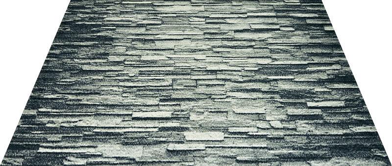 Office & Decor Stonework_ストーンワーク 145 x 200 cm玄関マット 屋内 室内 自然 Office&Decor オフィスマット ナチュラル エレガント 70種類 日本製 洗える 石 大理石 ストーン