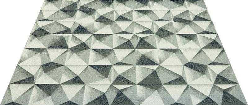 Office & Decor Pyramid_ヒ゜ラミット゛145 x 200 cm玄関マット 屋内 室内 自然 Office&Decor オフィスマット ナチュラル エレガント 70種類 日本製 洗える 無機質 ピラミッド