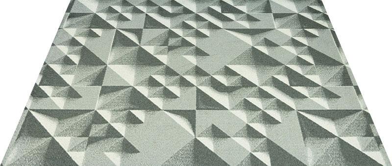 Office & Decor Wedge_ウェッシ゛145 x 200 cm玄関マット 屋内 室内 自然 Office&Decor オフィスマット ナチュラル エレガント 70種類 日本製 洗える 無機質 ピラミッド 砂 砂漠