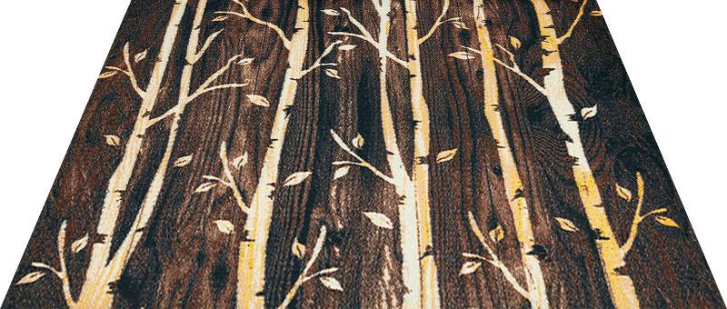 Office & Decor Birch_ハ゛ーチ 90 x 120 cm玄関マット 屋内 室内 自然 Office&Decor オフィスマット ナチュラル エレガント 70種類 日本製 洗える ウッド リーフ
