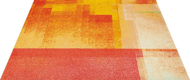 Office & Decor Sunset サンセット 90×120 cm|玄関マット フロアマット 屋内 室内 自然 オフィス ナチュラル エレガント 70種類 日本製 洗える グラデーション Kleen tex