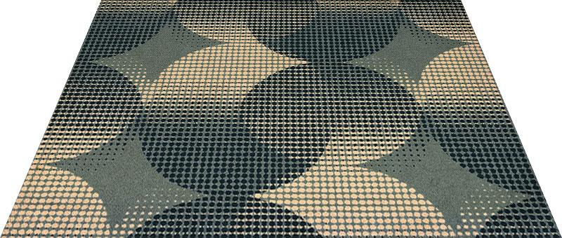Office & Decor Orbit_オーヒ゛ット 90 x 150 cm玄関マット 屋内 室内 自然 Office&Decor オフィスマット ナチュラル エレガント 70種類 日本製 洗える