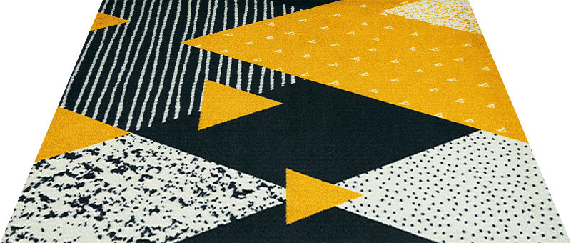Office & Decor Diamante ディアマンテ 90×120 cm|玄関マット フロアマット 屋内 室内 自然 オフィス ナチュラル エレガント 70種類 日本製 洗える Kleen tex