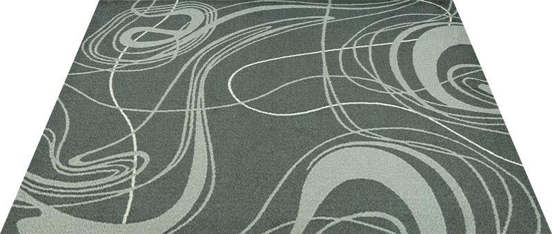 Office & Decor Distortion_テ゛ィストーション 145 x 200 cm玄関マット 屋内 室内 自然 Office&Decor オフィスマット ナチュラル エレガント 70種類 日本製 洗える