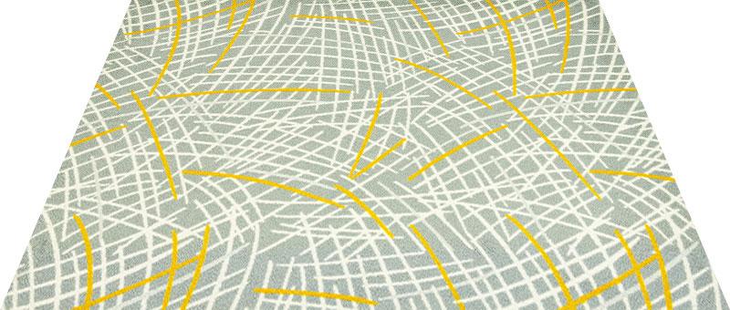 Office & Decor Distortion Grass Field _ク゛ラスフィールト゛ 145 x 200 cm玄関マット 屋内 室内 自然 Office&Decor オフィスマット ナチュラル エレガント 70種類 日本製 洗える