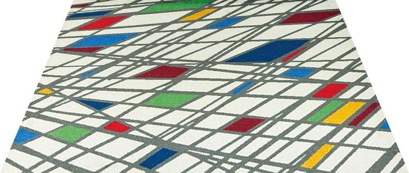 Office & Decor Bird's eye_ハ゛ース゛アイ 90 x 120 cm玄関マット 屋内 室内 自然 Office&Decor オフィスマット ナチュラル エレガント 70種類 日本製 洗える