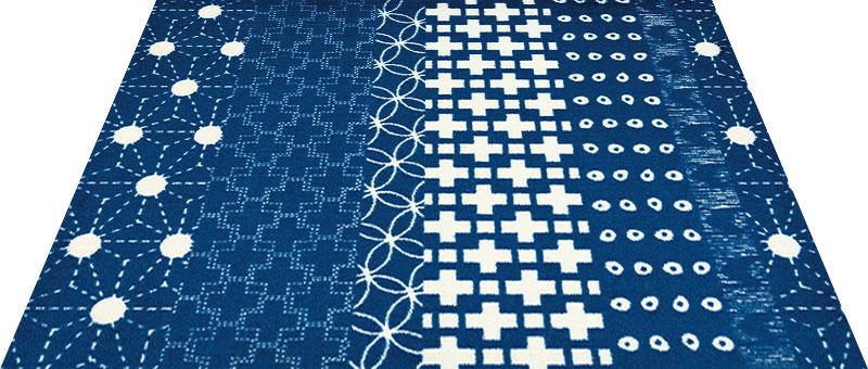 Office & Decor TENUGUI_てぬぐい 90 x 120 cm玄関マット 屋内 室内 自然 Office&Decor オフィスマット ナチュラル エレガント 70種類 日本製 洗える