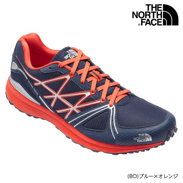 ノースフェイス ULTRA TR SPEED NF51704 コズミックブルー×ヴァレンシアオレンジ
