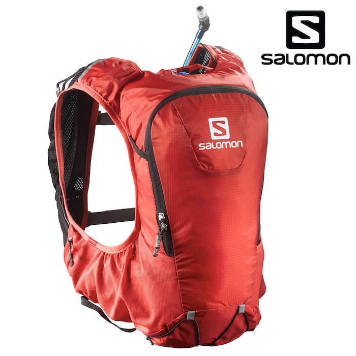 サロモン SKIN PRO 10 SET BRD/BK バックパック リュック トレイルラン トレイルランニング L37996700