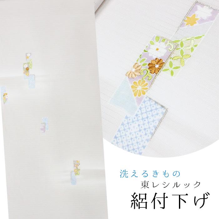 【東レシルック】絽の付下げrt60【反物】【送料無料】