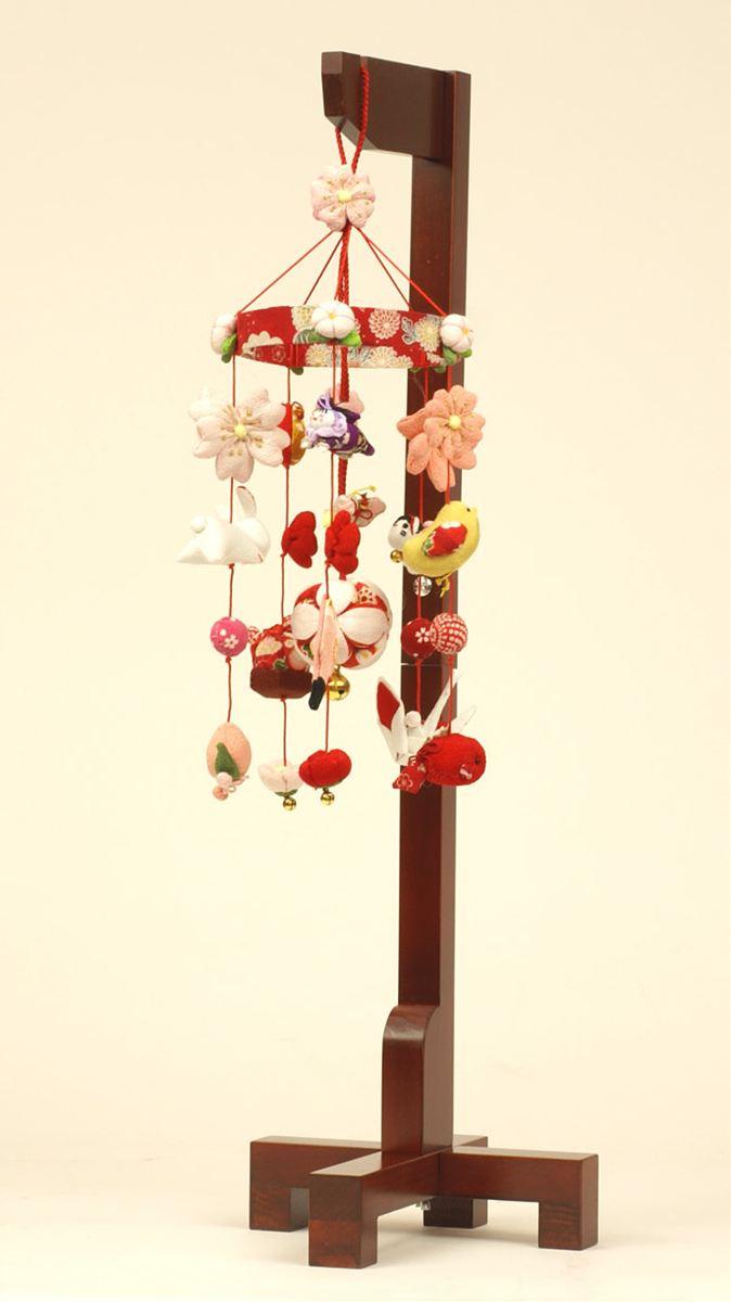 雛人形 つるし雛 つるし飾り ひな人形 人気 コンパクト 雛飾り 「華やぎの雛」 (雛/コンパクト収納飾り/名匠・逸品飾り/お雛様/お雛さま/おひなさま/ひな祭り/雛祭り) 人形広場