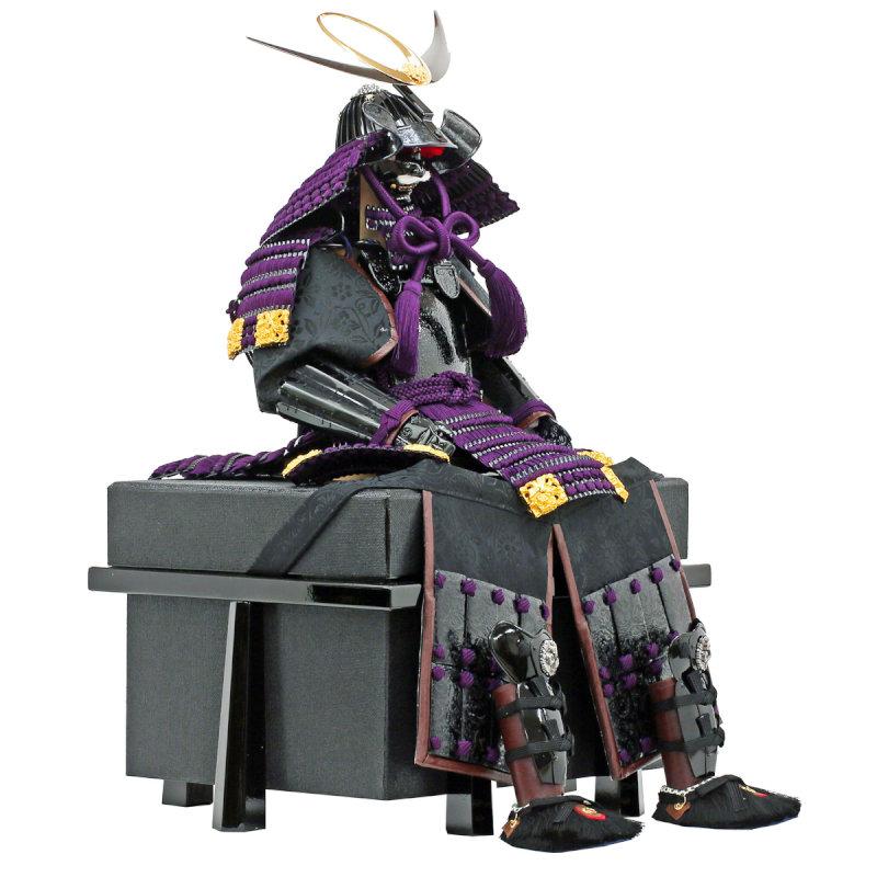 The doll for the Boy's Festival armor flat decoration armor armor  decoration 大越忠保作武将鎧上杉謙信公之鎧人形工房天祥限定
