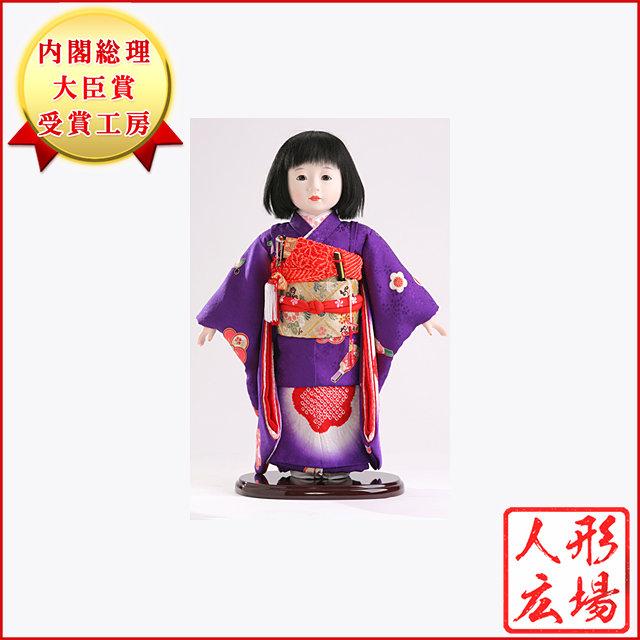市松人形 雛人形 五月人形 5月人形 お出迎え人形 お祝い人形 初節句 送料無料 稲邊智津子原作 人形広場