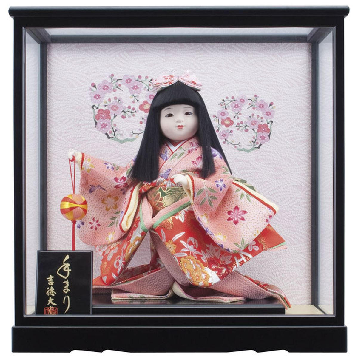 Hina dolls popular Yoshi Tak large case ornament into the Compact's first  annual Festival dolls case Gil Tak world dolls Doll World