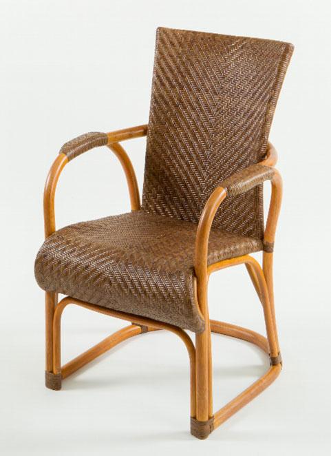 ラタン アームチェア 【椅子】